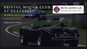 Bristol Motor Club at Heathfest